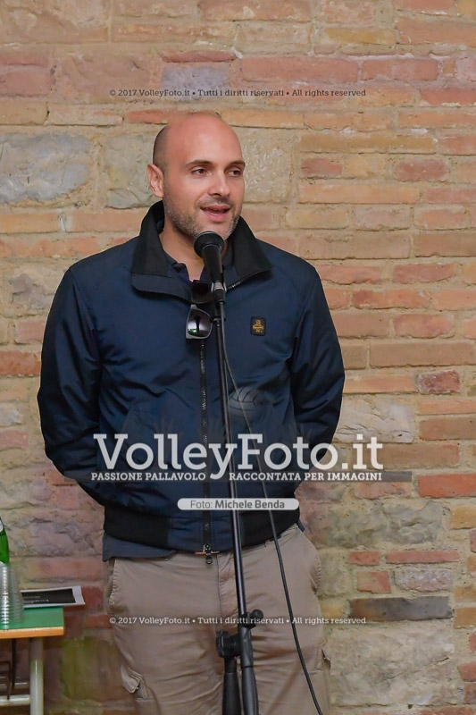 Emanuele Prisco, Assessore allo Sport Comune di Perugia