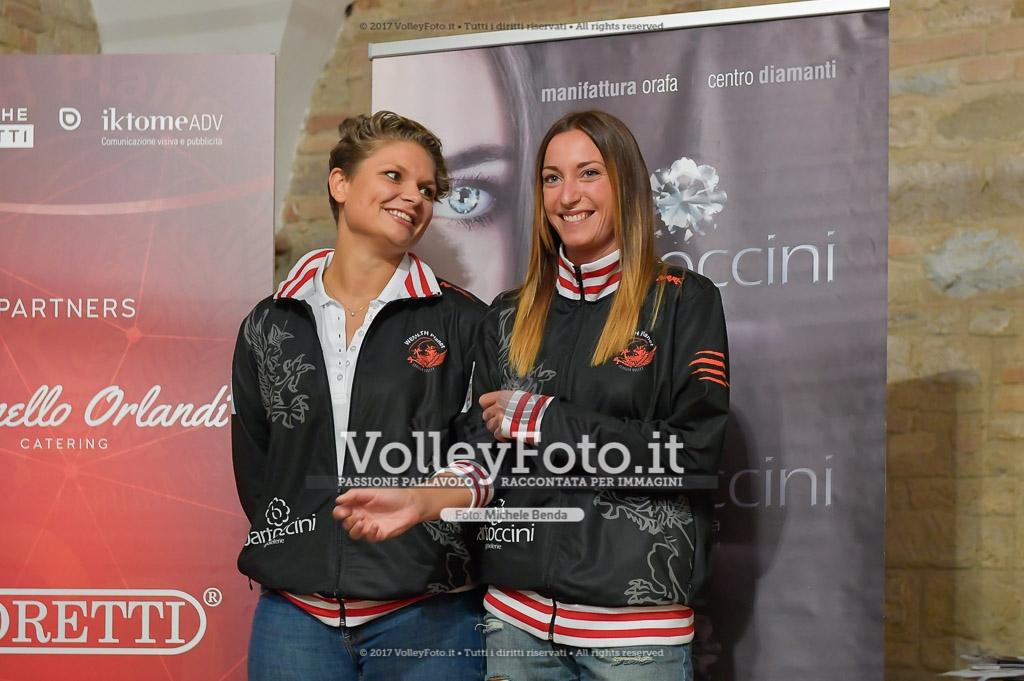 Jessica PUCHACZEWSKI [1] e Fiamma MAZZINI [2]