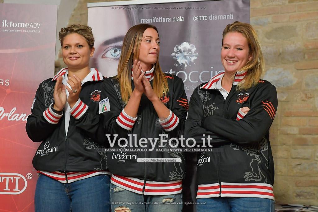 Jessica PUCHACZEWSKI [1], Fiamma MAZZINI [2], e Rachele MANCINELLI [3]