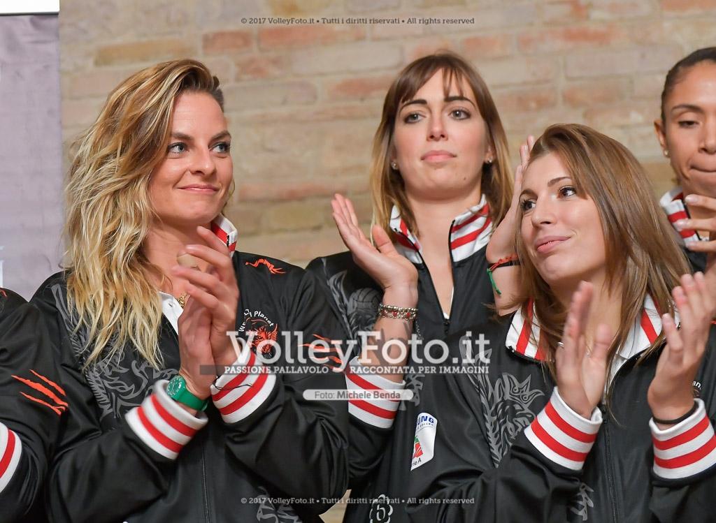 Emanuela FIORE [4], Silvia LOTTI [5], e Alice GIAMPIETRI [8]