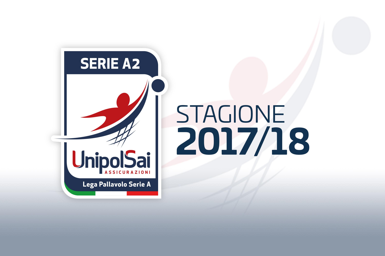 La mappa della Serie A2 Maschile 2017-18