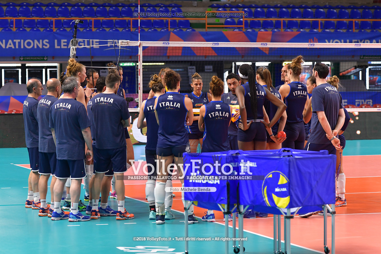 Lunedì le Azzurre si radunano a Roma