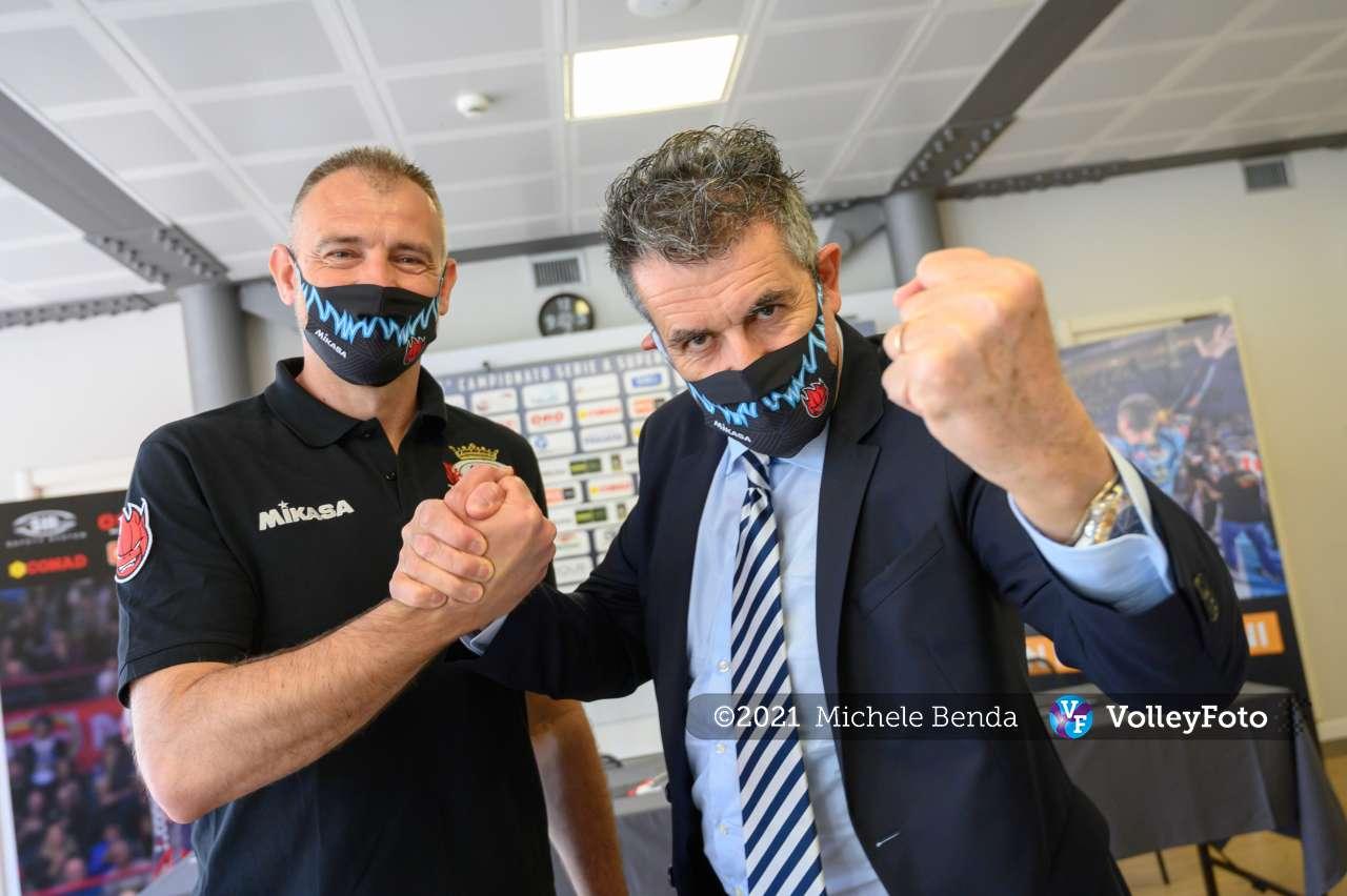 Nicola Grbic è l'allenatore della Sir Safety Conad Perugia per la stagione 2021-22