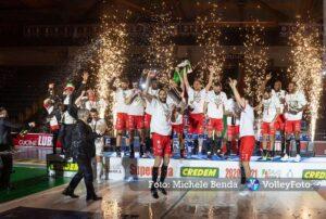 . Cucine Lube CIVITANOVA, Volley, Volleyball, Pallavolo, Campioni d'Italia 2020-2021.